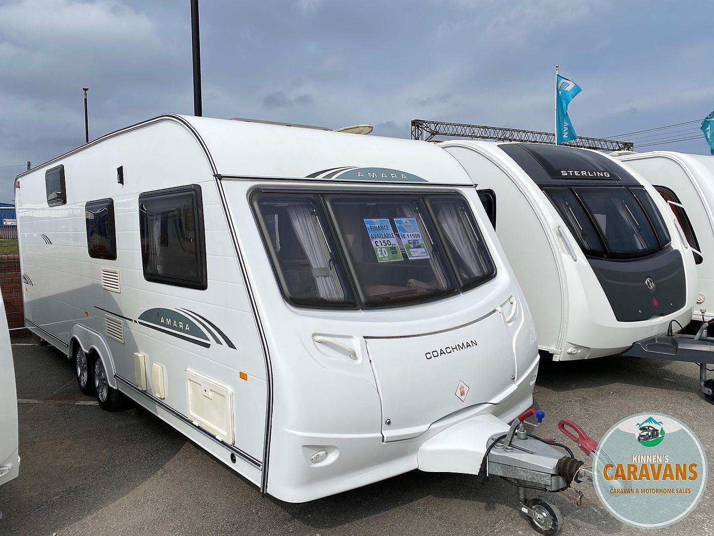 Coachman Amara 20/20 Touring Caravan 20   Kinnen's Caravans