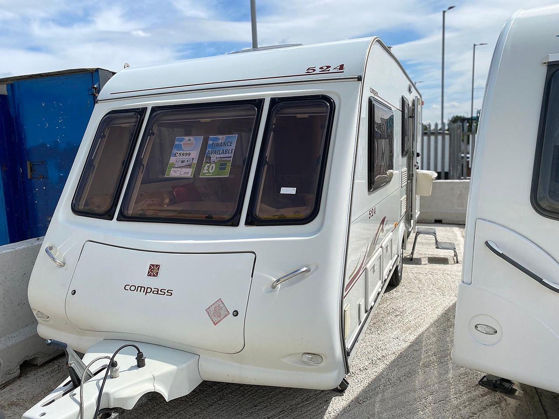 Compass 20 Touring Caravan 20   Kinnen's Caravans